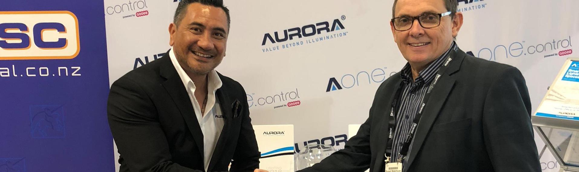 Aurora Lighting Distribution Underway In Nz