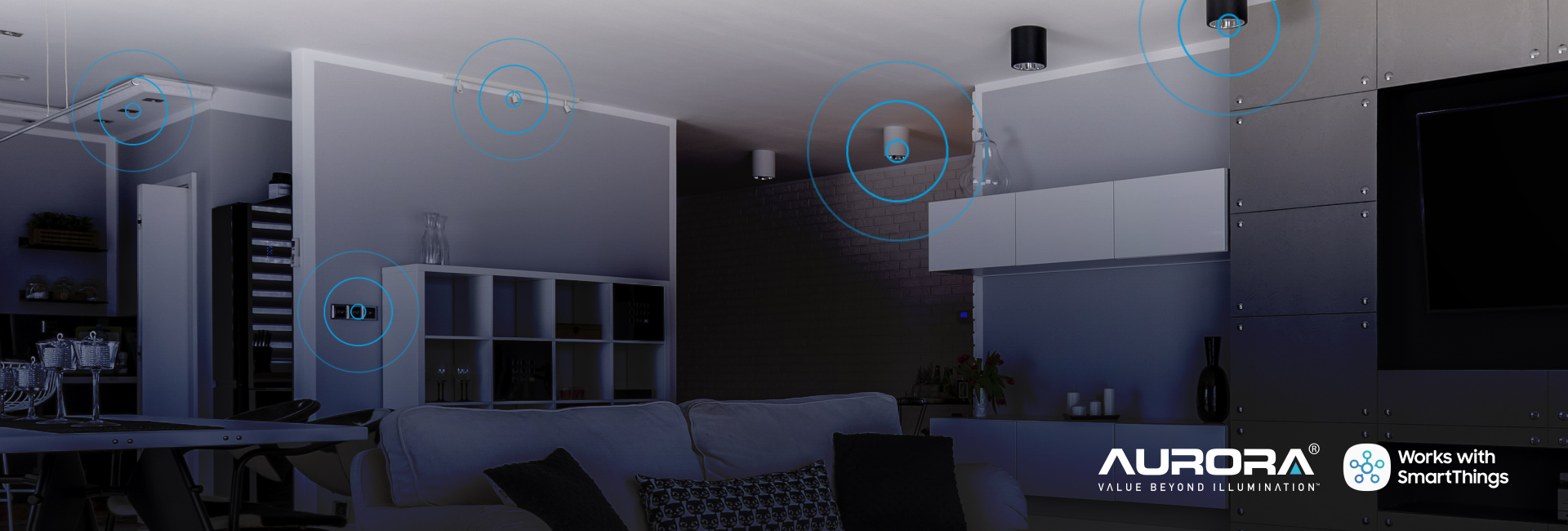 Show products in category Aurora launches into SmartThings Stratosphere